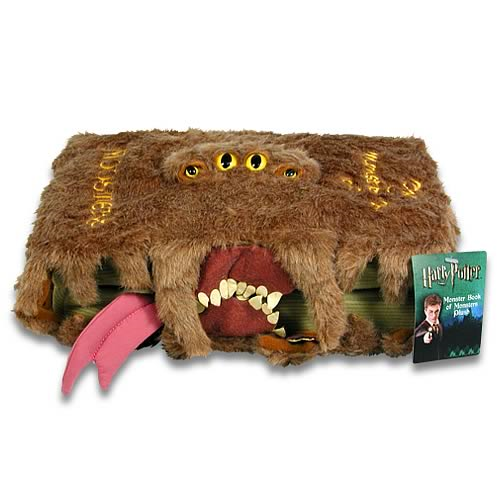online store 3fc4a a9b8b Harry Potter Monster Book of Monsters Plush