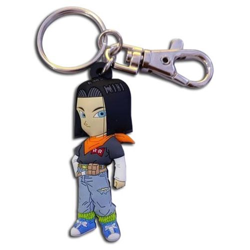 Dragon Ball Z Android 17 PVC Key Chain
