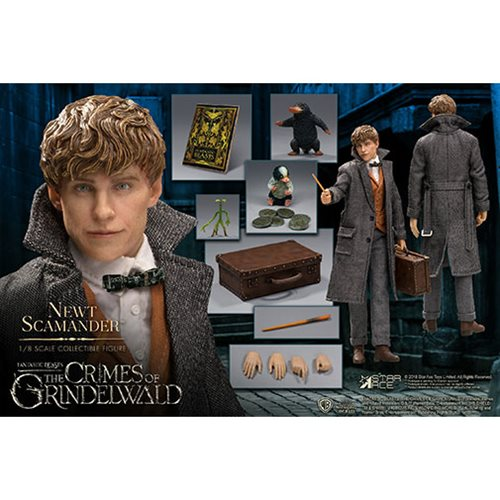 Fantastic Beasts 2: The Crimes of Grindelwald Newt Scamander 1:8 Scale Action Figure