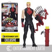 Avengers Lightning Bow Hawkeye with Electronic Light-Up Bow - Entertainment Earth Exclusive, Not Mint