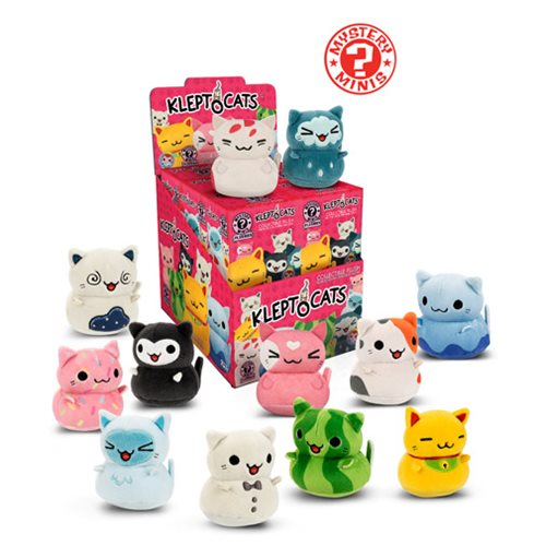 KleptoCats Series 1 Plush Mystery Minis Display Case