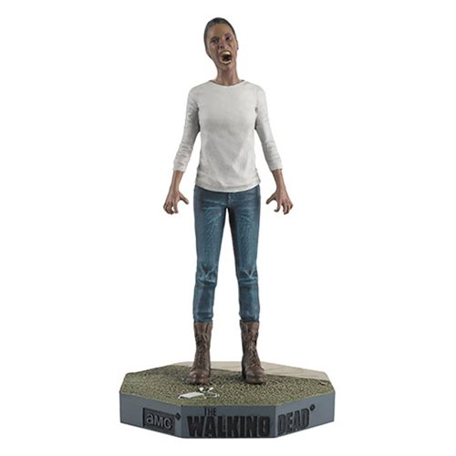 The Walking Dead Sasha Figurine with Collector Magazine #33