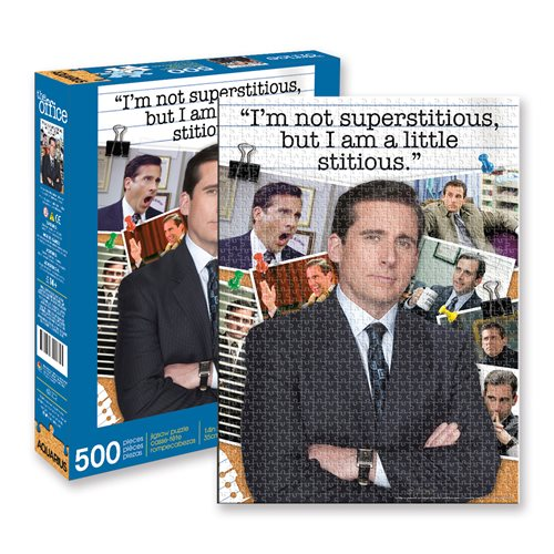 The Office Michael Scott Quote 500-Piece Puzzle