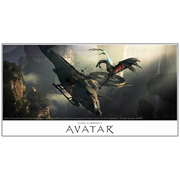 Avatar Banshee Attack Paper Giclee Print