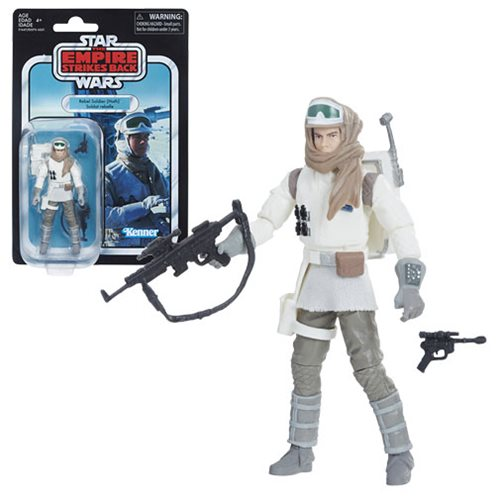 Star Wars The Vintage Collection Rebel Trooper (Hoth) Figure, Not Mint