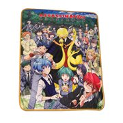 Assassination Classroom Group Sublimation Throw Blanket
