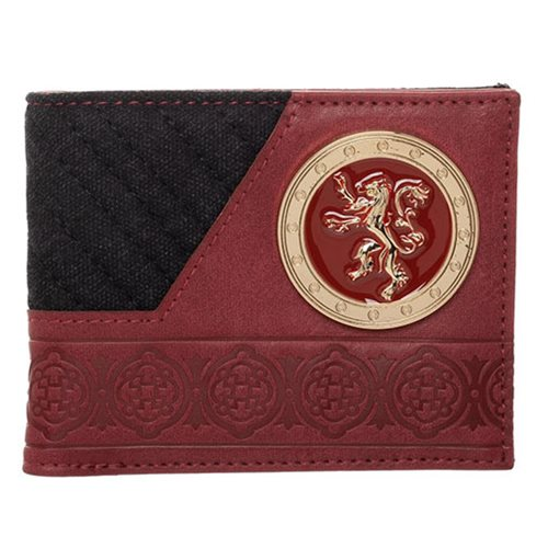 Game of Thrones House Lannister Bifold Wallet