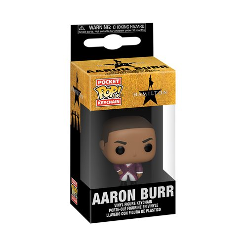 Hamilton Aaron Burr Pocket Pop! Key Chain