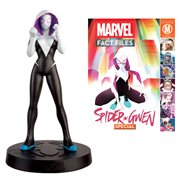 Marvel Fact Files Special Spider-Gwen Figure with Collector Magazine #31