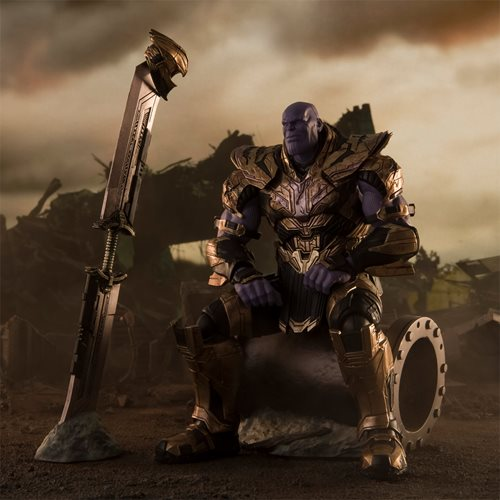 Avengers: Endgame Thanos Final Battle Edition SH Figuarts Action Figure