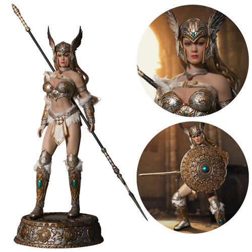 Tariah: The Valkyrie (Silver) 1:12 Scale Action Figure