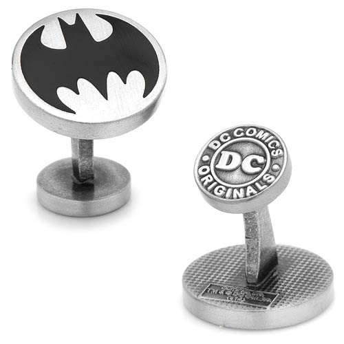 Batman Logo Vintage Cufflinks