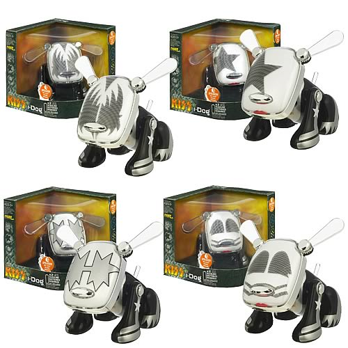 I-Dog KISS Kollection Musical Robot Dogs Wave 1