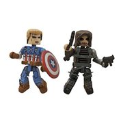 Marvel Minimates Captain America & Winter Soldier, Not Mint