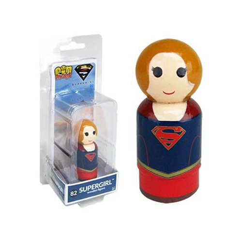 Supergirl TV Series Supergirl Pin Mate Wooden Figure