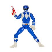 Power Rangers Lightning Collection Mighty Morphin Blue Ranger 6-Inch Action Figure, Not Mint