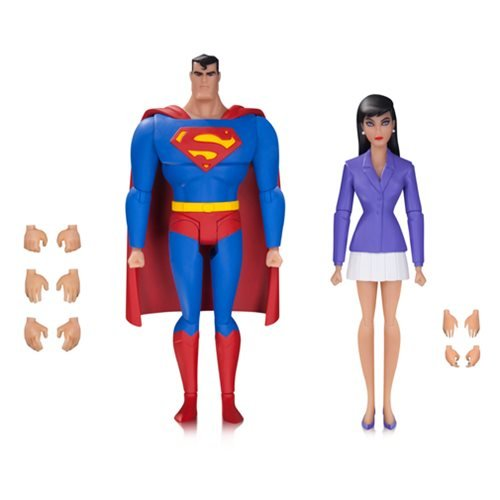 Superman: The Animated Series Superman and Lois Action Figure 2-Pack