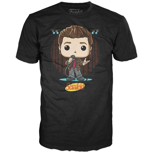 Seinfeld Jerry Live from NY Adult Pop! T-Shirt