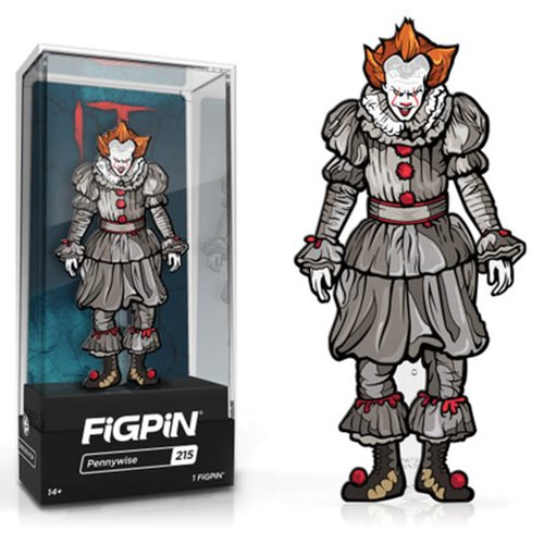 It: Chapter 2 Movie Pennywise FiGPiN Enamel Pin