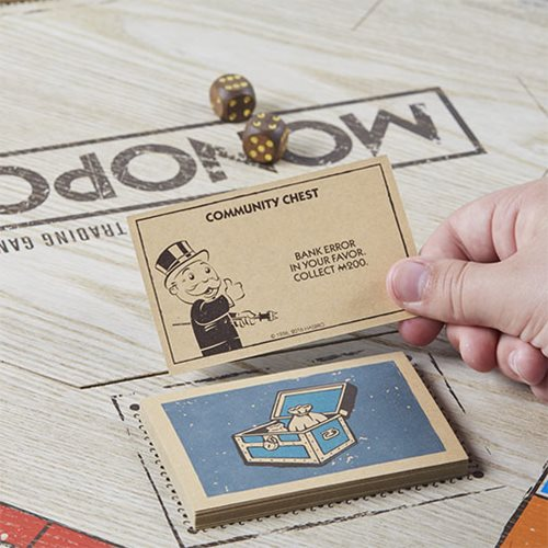 Monopoly Game Rustic Series Edition