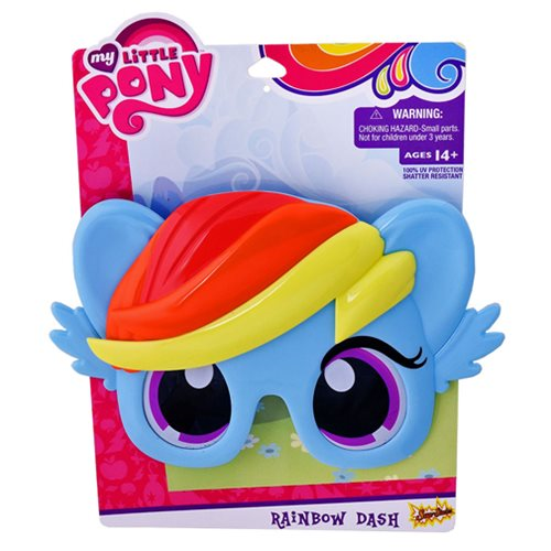 My Little Pony Rainbow Dash Sun-Stache