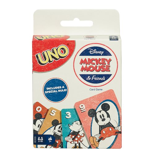 Mickey Mouse UNO Game