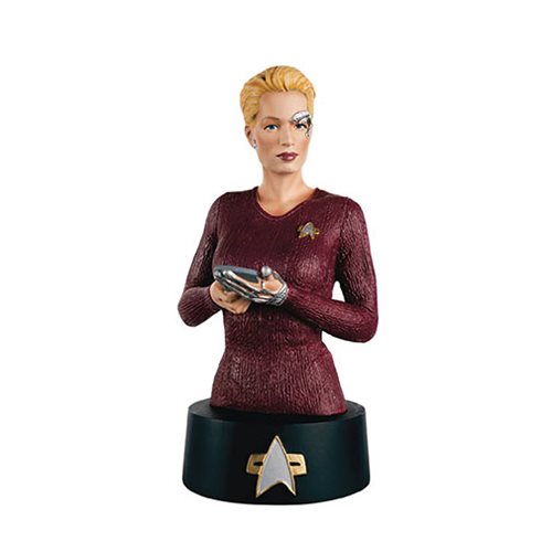 Star Trek Bust Collection Seven of Nine with Magazine #6