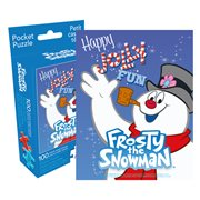 Frosty the Snowman 100-Piece Pocket Puzzle