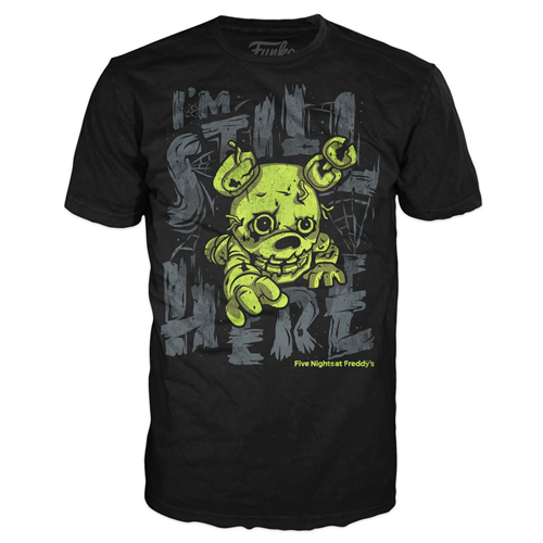Five Nights at Freddy's Springtrap Still Here Youth Black T-Shirt