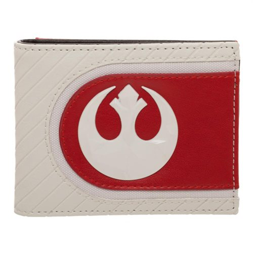 Star Wars: The Last Jedi Salt Planet Rebel Bifold Wallet