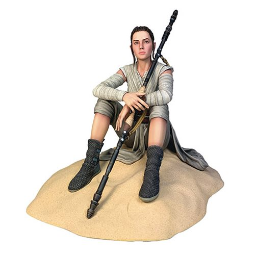 Star Wars Premier Collection Rey Dreamer Statue