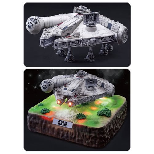 Star Wars: The Last Jedi EA-035 Floating Millennium Falcon Statue