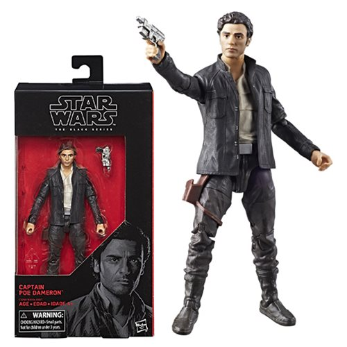 Star Wars The Black Series Captain Poe Dameron 6-Inch Action Figure, Not Mint