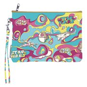 Star Wars Psychedelic Mighty Wallet Wristlet Purse