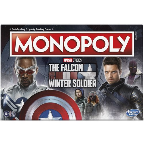 Marvel The Falcon and the Winter Soldier Edition Monopoly Game