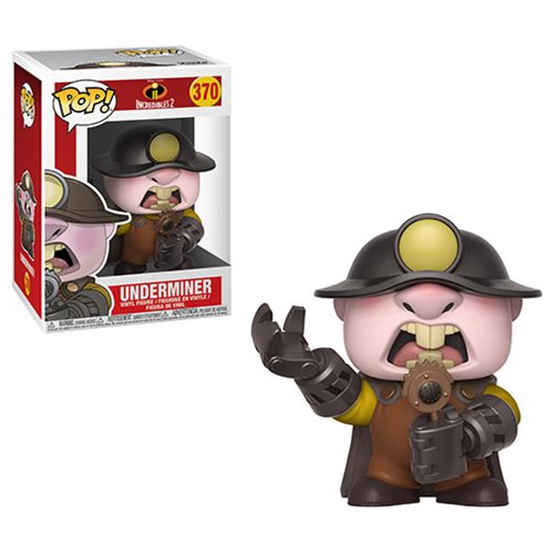 Incredibles 2 Underminer Pop! Vinyl Figure #370