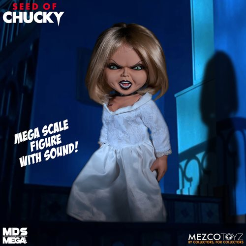 Child's Play Seed of Chucky Tiffany Mega-Scale with Sound 15-Inch Doll