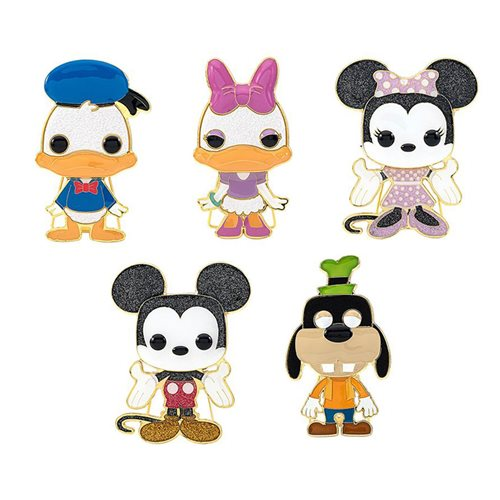 Disney Large Enamel Pop! Pin - 1 Random Pin