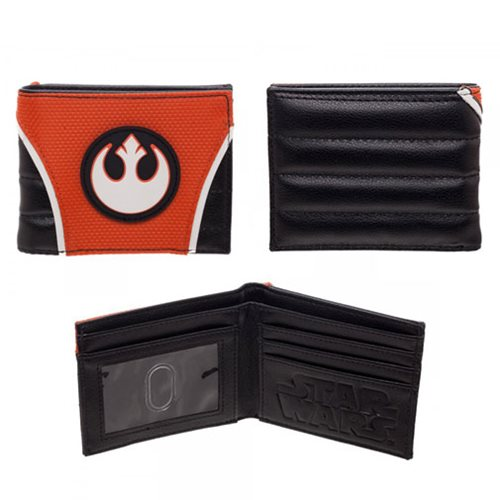 Star Wars Rebel PU Bi-Fold Wallet
