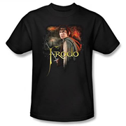 Lord of the Rings Frodo Black T-Shirt