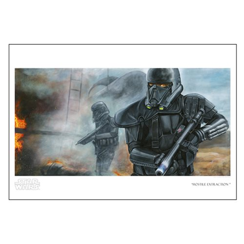 Star Wars Hostile Extraction by Greg Lipton Paper Giclee Art Print