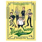 It's Always Sunny in Philadelphia The Gang Gets a Poster by Ian Glaubinger Lithograph Art Print