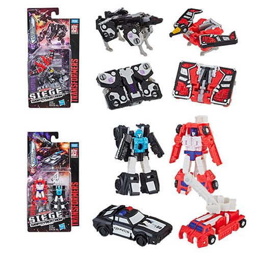 Transformers Generations Siege Micromasters Wave 2 Set