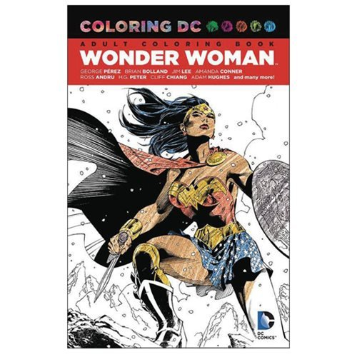 Wonder Woman Coloring Book