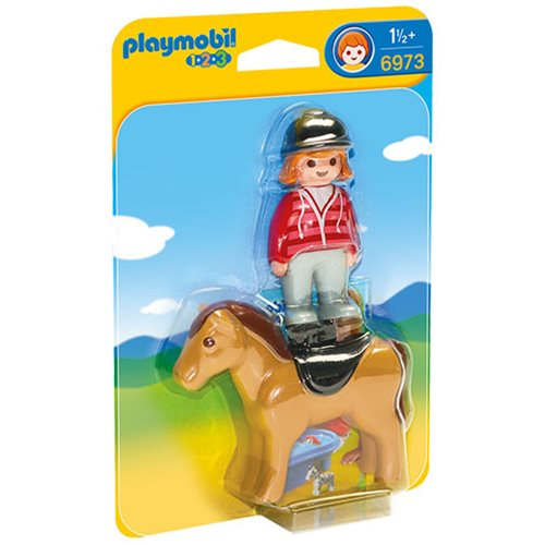 Playmobil 6973 Equestrian with Horse