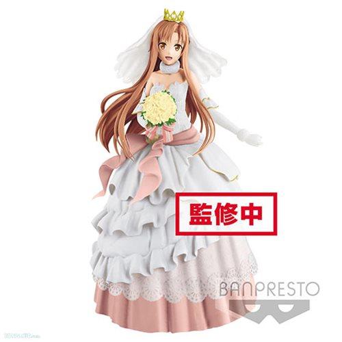 sword art online code register wedding asuna exq statue