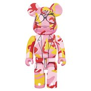 Andy Warhol Camo Version 1000% Bearbrick Figure