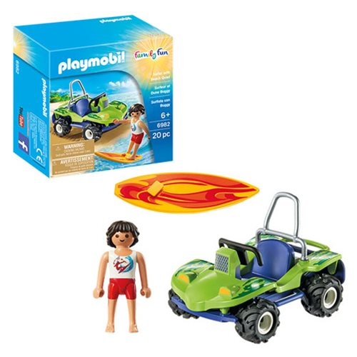 Playmobil 6982 Surfer with Beach Quad