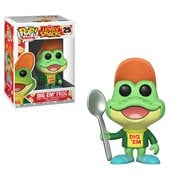 Kellogg's Honey Smacks Dig Em' Frog Pop! Vinyl Figure #25