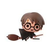 Harry Potter with Broom 3D Foam Magnet